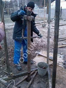 Бурение скважины на даче в Днепропетровской области